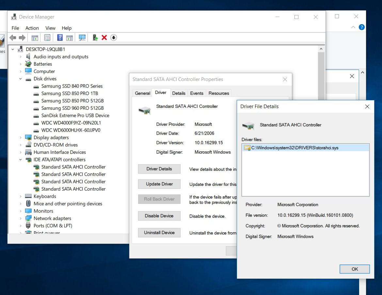 947 (Windows 10 To Go: IOCTL_STORAGE_QUERY_PROPERTY(NVMe) failed
